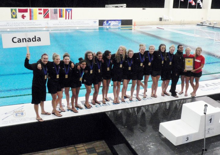 Canada Junior Pan Am Winners